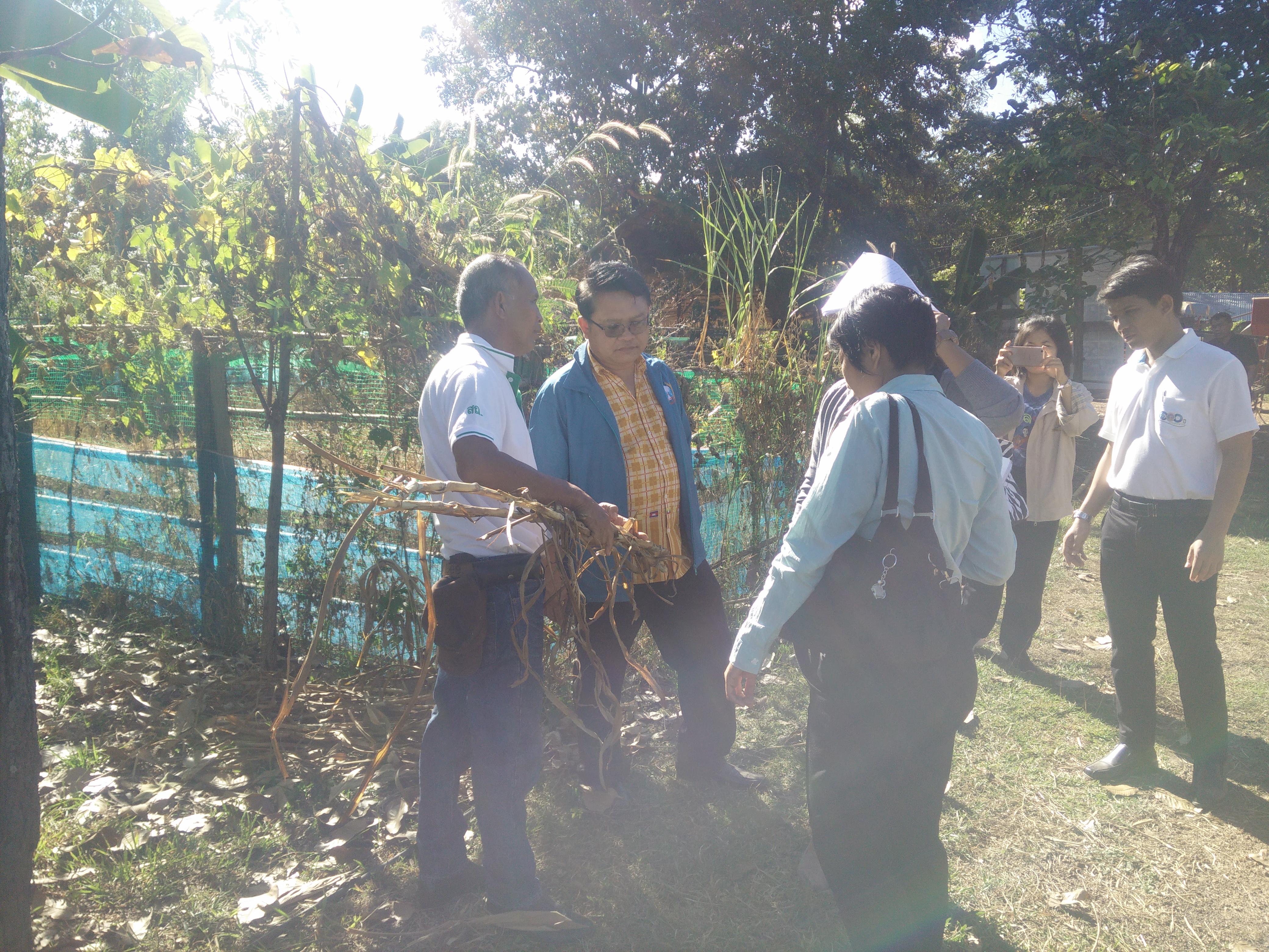 ตรวจติดตามโครงการเพิ่มพูนประสิทธิภาพการผลิตโคเนื้อคุณภาพสู่อาเซียน